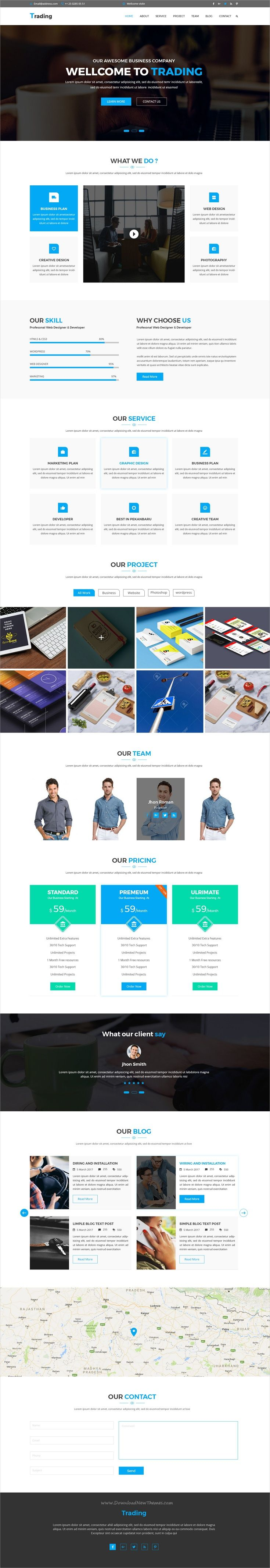 Trading is the best choice premium #PSD template for creative #agency or business #landing page website download now➩ https://themeforest.net/item/trading-corporate-psd-template/19579679?ref=Datasata  - No site #ThemeForest encontra os melhores #Templates & #Plugins para #Wordpress. Confira em http://www.estrategiadigital.pt/themeforest-templates-wordpress/