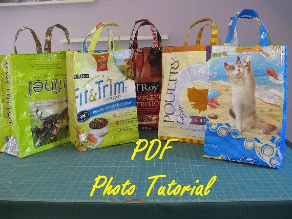Dog Food Bag Tote Pattern