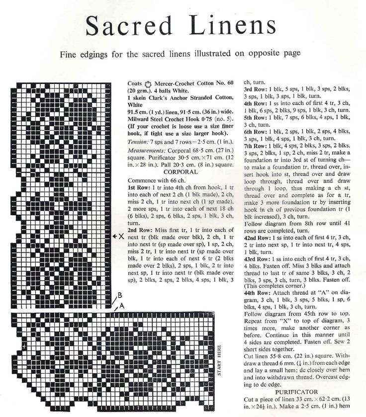 Crochet Patterns | The Altar Guild Resource for the Diocese of Rhode Island