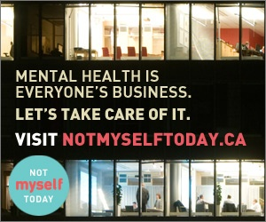 From May 9th, 2013 to Not Myself Day @ Work on June 6th, 2013, organizations across Canada will take part in helping educate and engage people around the issues of mental health in the workplace.  Please visit www.notmyselftoday.ca for more information.