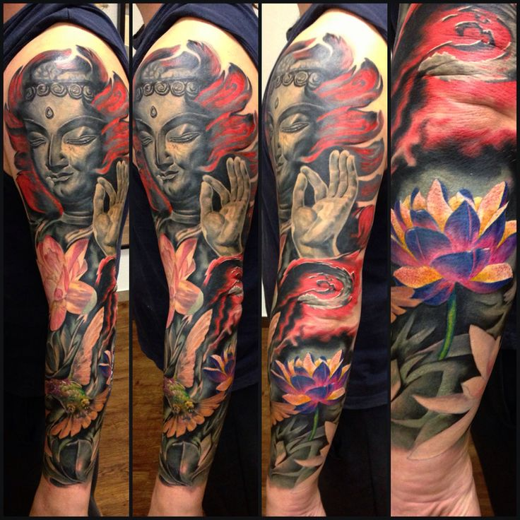 Buddism, contemporary art, Japan tattoo composition, experimental sleeve, for more updates follow me in Instagram @saver09