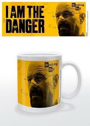 Taza con imagen del químico de Albuquerque, Walter White y protagonista de la serie Breaking Bad. ¿A que nunca te esperabas desayunar con Heisenberg cada mañana