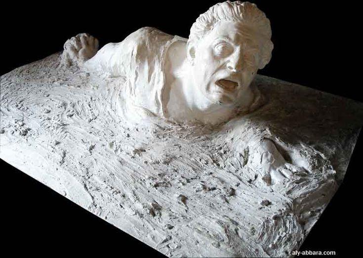 France ; musée du mont Saint-Michel : enlisé dans les sables mouvants