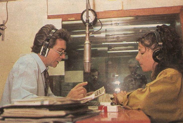 Programa POR TUS SUEÑOS, Juan Alberto Badía y María Muñoz, Radio RIVADAVIA, Buenos Aires, década del 80.