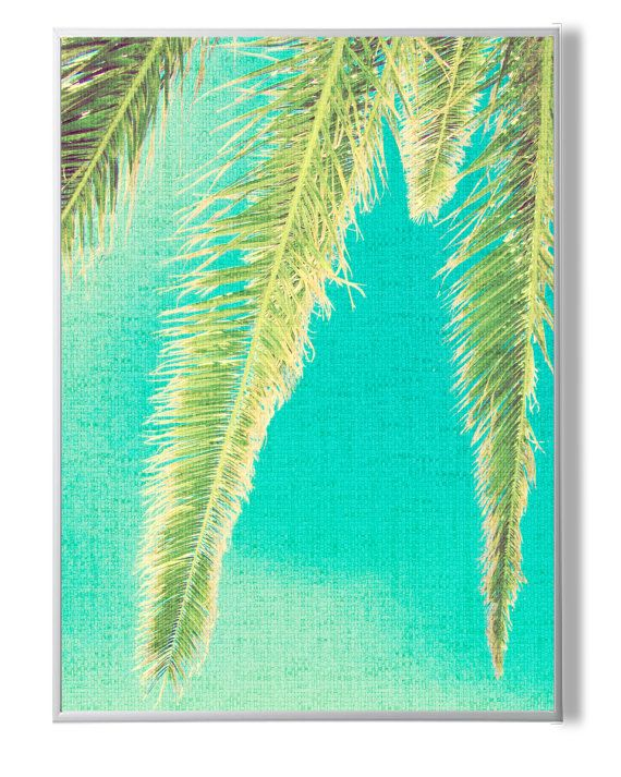 Tropical Palm Wall DecorPalm Three ArtPlant от YourPrintsShop