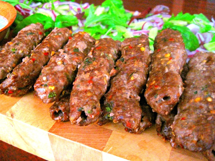 Shish Kebabs W Beef Or Lamb Seekh Kebab Recipes Kebab Recipes Beef Recipes