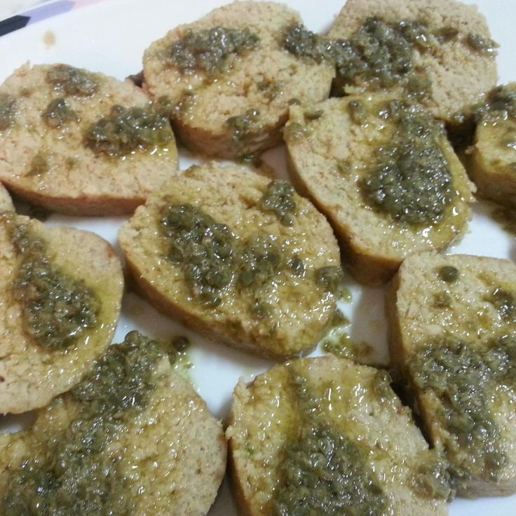 Ricetta Salame di tonno con salsa ai capperi bimby