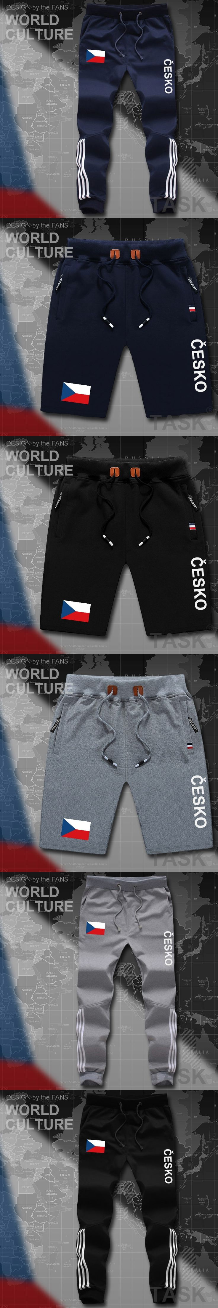 Czech Republic Czechia mens pants joggers jumpsuit sweatpants track cargo sweat fitness casual nation country flag 2017 new CZE