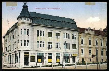 1915. Eger, Hevesmegyei Takarékpénztár | Képcsarnok | Hungaricana