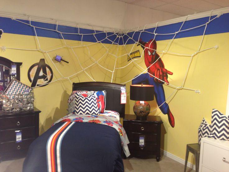 8 best pimp ikea expedit ikea kallax images on pinterest for Spiderman kids room