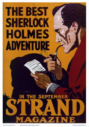 SHERLOCK HOLMES STRAND POSTER | Flickr - Photo Sharing!