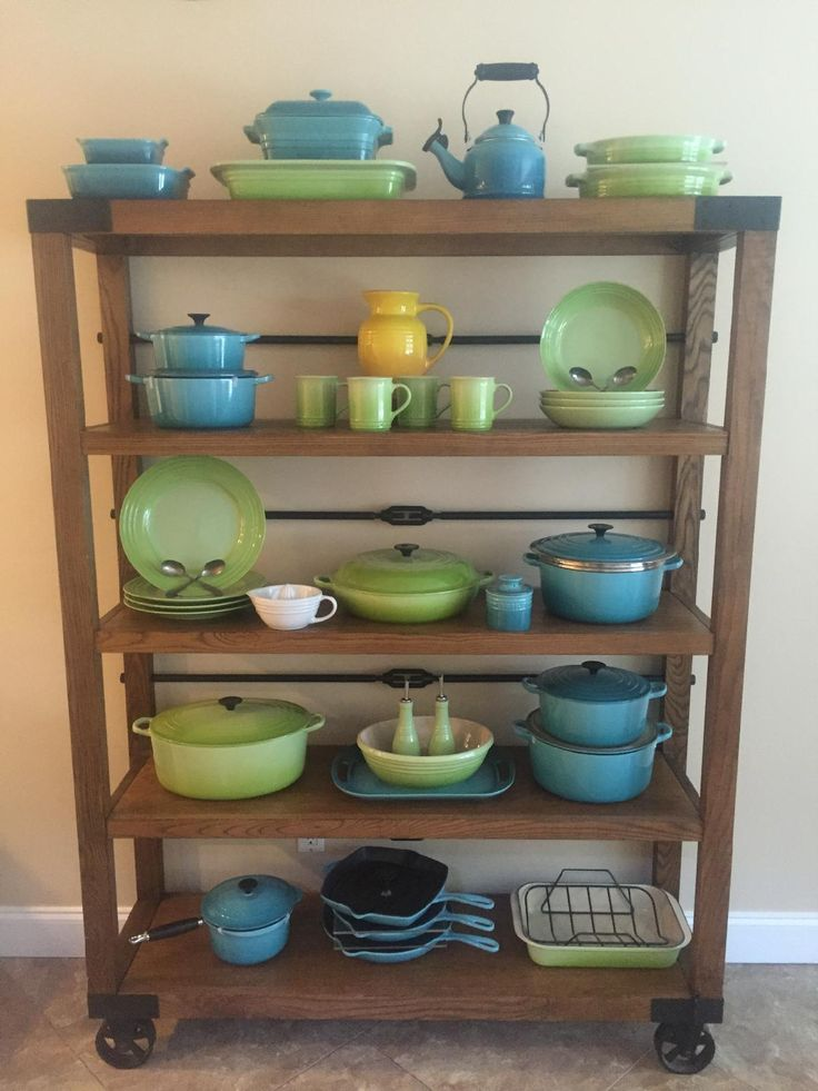 How to display Le Creuset