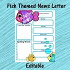 Use this News letter to update parents and guardians about their student's week. You can include:  *Homework assignments *Upcoming projects *Specia...