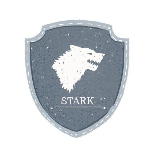 House Stark Sigil - Maria Suarez Inclan