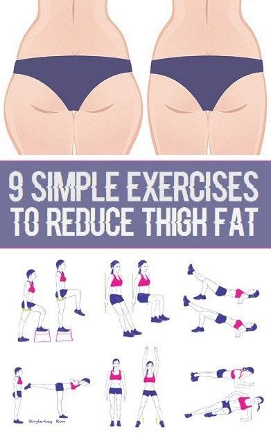 The process of losing weight on your thighs is easier than you think. Since your thigh fat is attached to the largest muscle in your body...