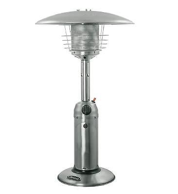 Portable Table Top Patio Heater Outdoor Propane Garden Yard Stainless Steel New