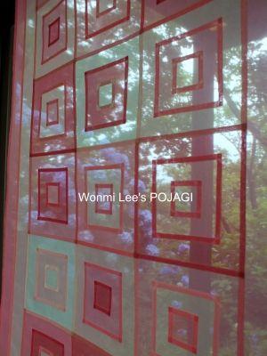 ポジャギ 作家 :: Wonmi Lee's POJAGI ::[website] http://beniden-studio.com/WonmiLee/[e-mail] wonmilee.pojagi@gmail.com