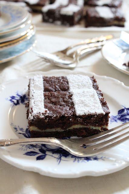 MY CHOCOLATE BRICK HOUSE: CELEBRARE L'AMORE E LA VITA - VIENNESE BROWNIES