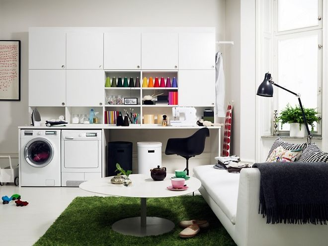 Eclectic Laundry Room by Bella Life Style