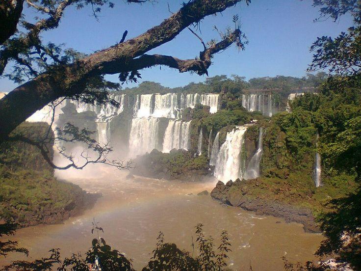 Cataratas de Iguazu. Una de las 7 maravillas del mundo. Argentina.