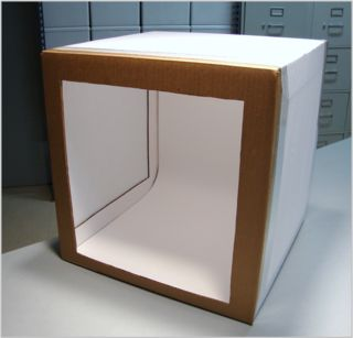 cardboard and muslin light box tutorial. Photography LightboxPhotography ...