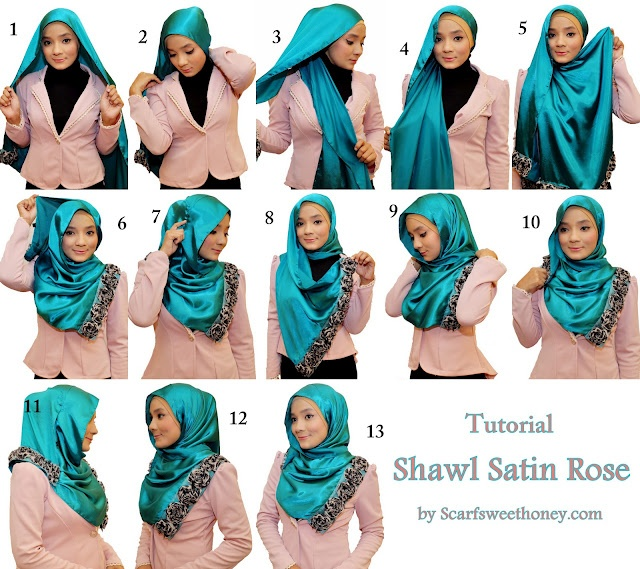 hijab tutorial- i think i might try