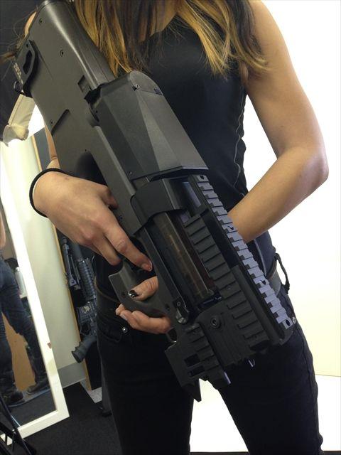 Crazy P90 Strike Rail By Laylax Milsim Weapons Guns