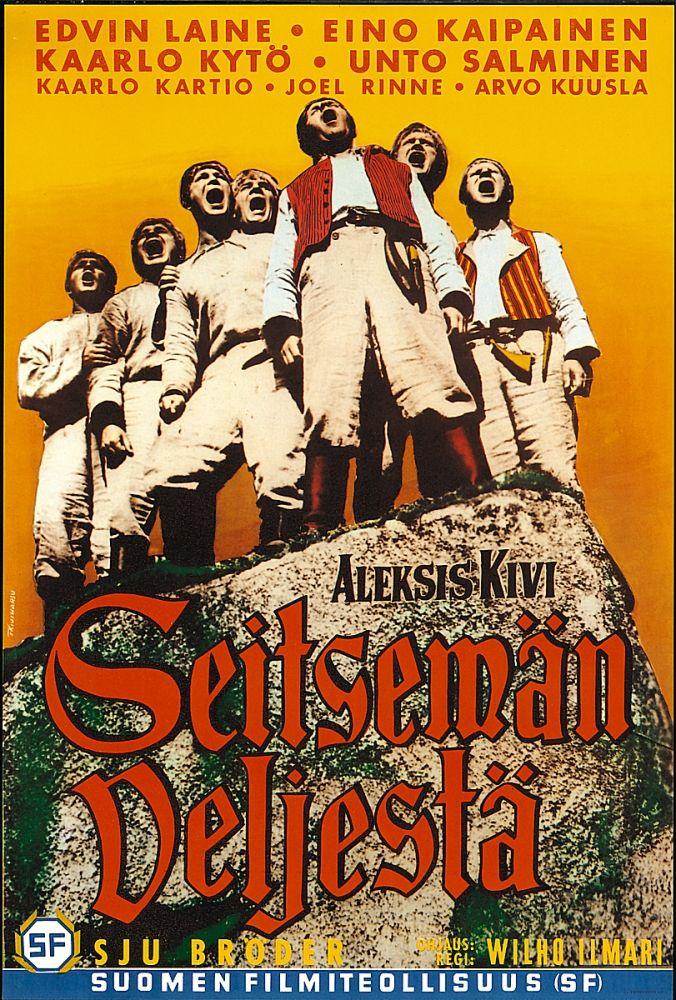 'Seitsemän Veljestä' (Seven Brothers) by Aleksis Kivi, dir. Wilho Ilmari - 1939.
