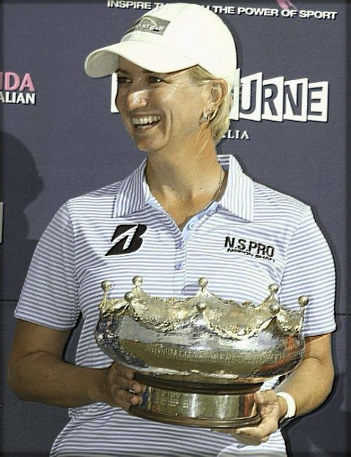 Karrie Webb Edges Chella Choi To Win Her Fifth Women's Australian Open Golf!
