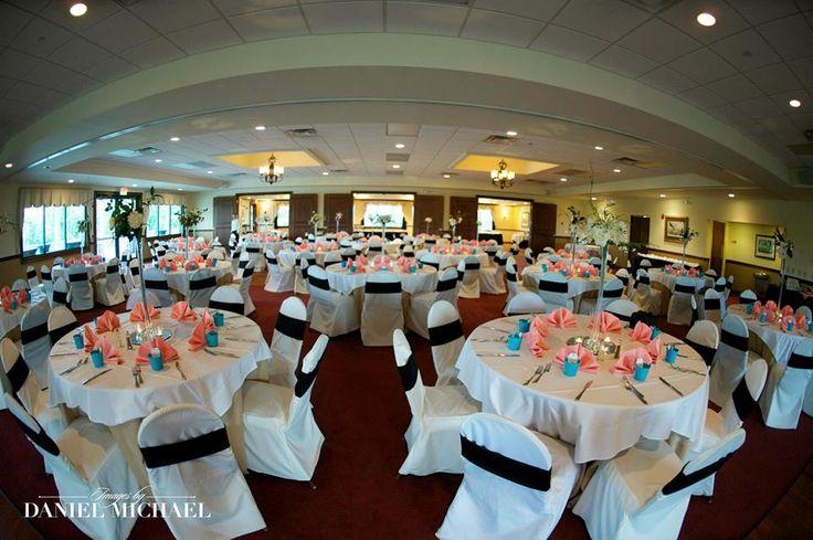 Receptions Inc At Dearborn Country Club Aurora In Indoor Outdoor Wedding
