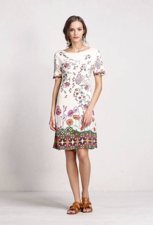 Dress Floral Print - Dress | Ivko Woman