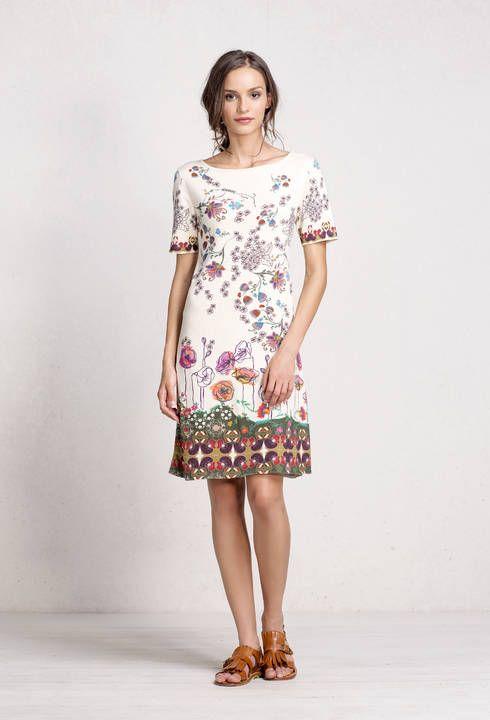 Dress Floral Print - Dress   Ivko Woman