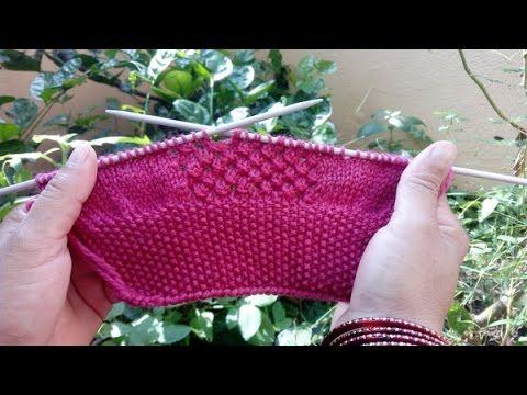Knitting Pattern | Easy Knitting # 19 - YouTube