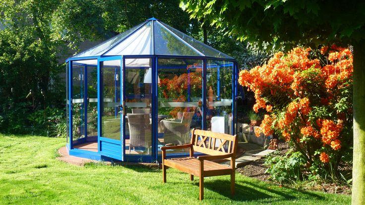 Glaspavillon Rund 12 400 cm  (6)