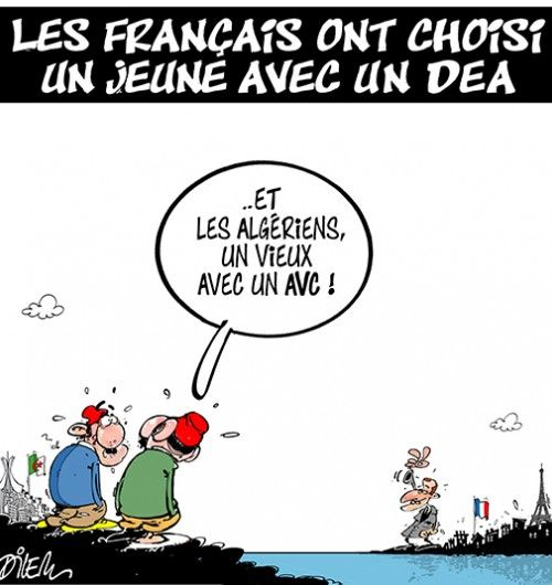 Caricature dilem du 16 mai 2017 : Toute l'actualité sur liberte-algerie.com