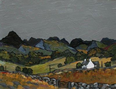 David BARNES-Snowdonia from above Pentre
