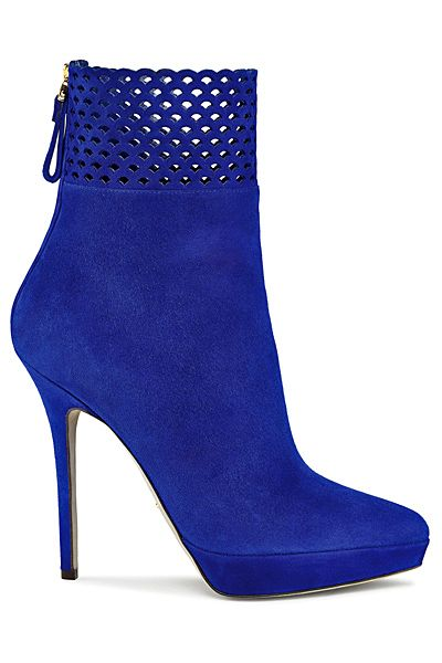 Blue suede shoes- Sergio Rossi - Shoes - 2013 Fall-Winter