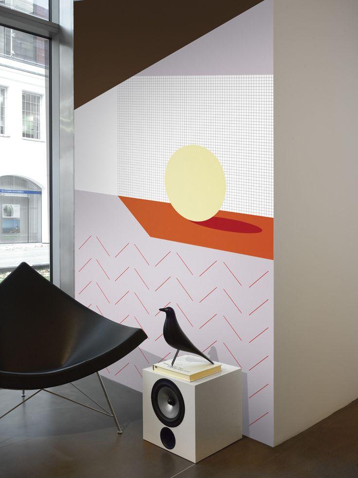 Room / non-woven wallpaper / lavmi