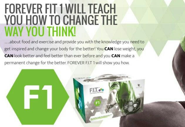 FOREVER F.I.T 1 - Lose weight, Look better, Feel better.