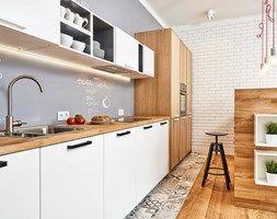 59 m2 na nowo - Kuchnia, styl skandynawski - zdjęcie od LIVING BOX