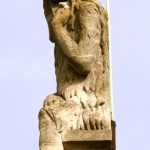 Statue in Cambridge