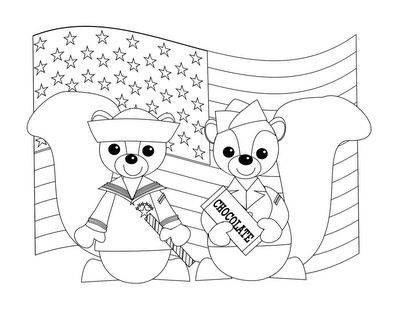 Veterans Day Coloring Page Free Printable Diy Craft
