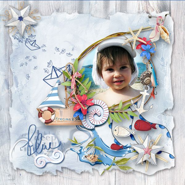 *Little Sailor* by MiSi Scrap  http://www.digiscrapbooking.ch/shop/index.php…