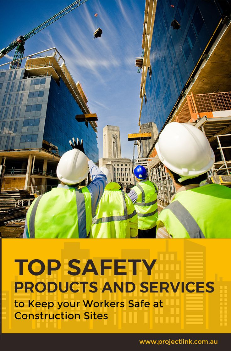 Construction sites are busy and fairly dangerous spaces. To reduce the risk of injuries and hazards at the workplace, these safety products can help.