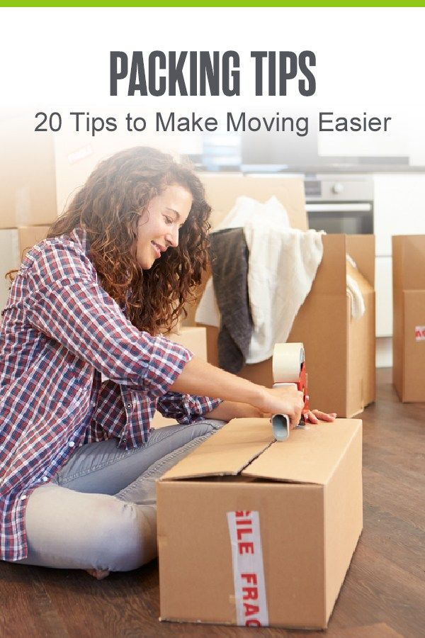 20 Packing Tips To Make Moving Easier Extra Space Storage Packing Tips Packing To Move Moving Hacks Packing