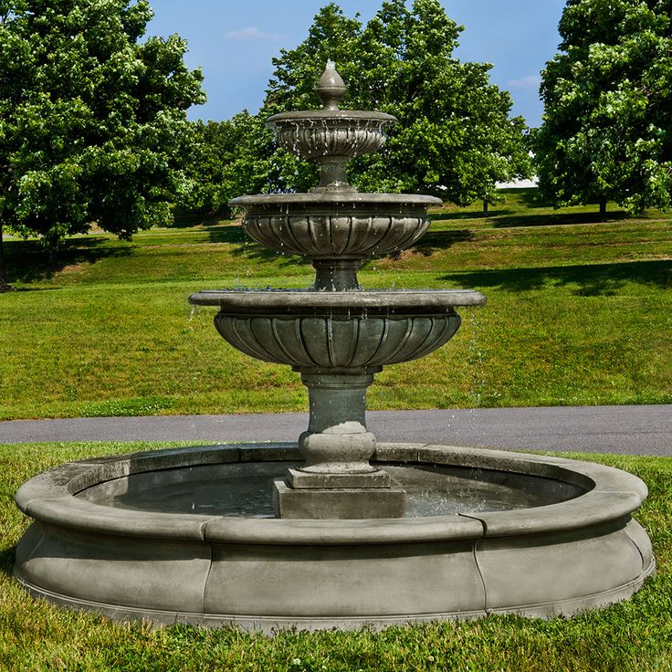 Garden Fountain: 1000+ Images About {Large Estate Garden Fountains} On