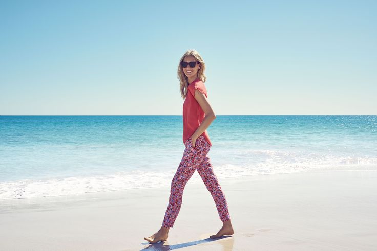 The summer's forecast? Sunny, with a chance of bright reds, bold patterns and soft fabrics.  Shop new arrivals > http://goo.gl/ODuMEx