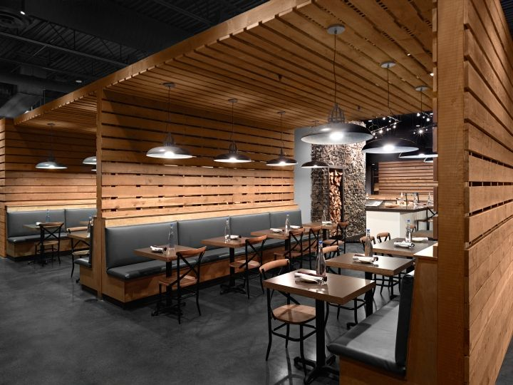 229 best images about ceiling rafts on pinterest for Waterfall restaurant design