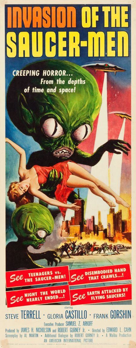 Invasion of the Saucer-Men (American International, 1957)