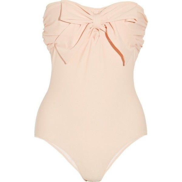 Fashion ❤ liked on Polyvore featuring swimwear, one-piece swimsuits, swimsuits, bathing suits, bikinis, swim, bikini one piece swimsuit, swimsuits bikinis, swimming costumes and orange one piece swimsuit
